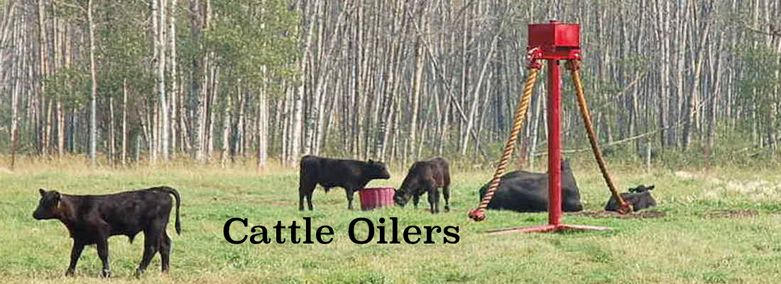 Cattle Oilers for sale Alberta
