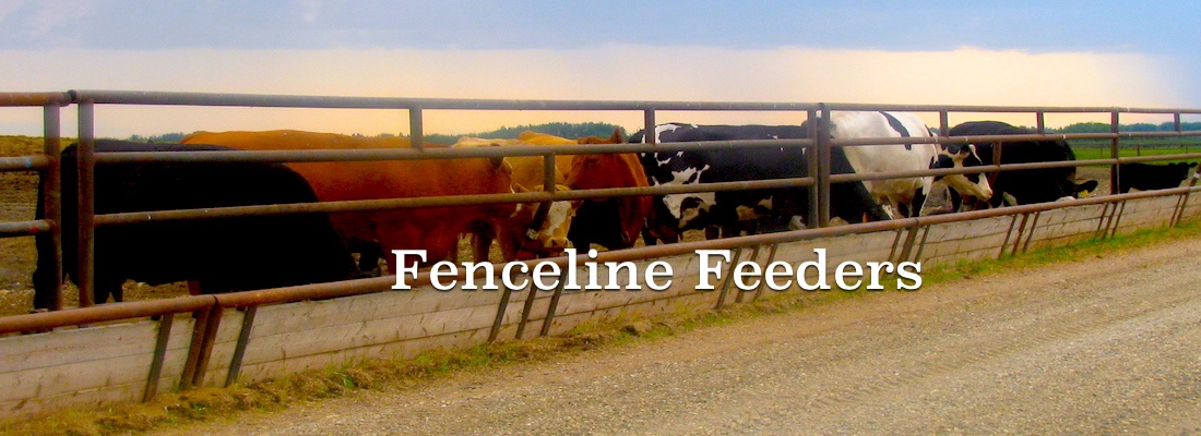 Fence line feeders for sale